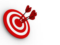 Target. Success concept. Royalty Free Stock Photo