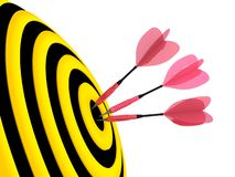 Target. Success concept. Stock Photography