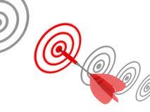 Target. Success concept. Stock Photos