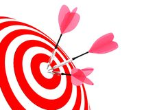 Target. Success concept. Stock Images