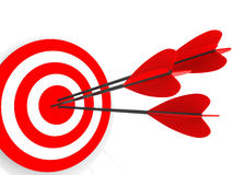 Target. Success concept Royalty Free Stock Images