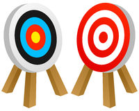 Target Success Concept Stock Photography