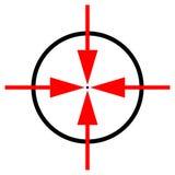 Target symbol Royalty Free Stock Images