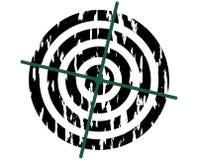 Target symbol. Grunge. Stock Photos