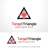 Target Triangle Logo Template Design Vector, Emblem, Design Concept, Creative Symbol, Icon. This design suitable for logo, symbol, emblem or icon Stock Photos