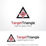 Target Triangle Logo Template Design Vector, Emblem, Design Concept, Creative Symbol, Icon Stock Photos