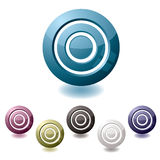 Target variation icon Royalty Free Stock Photo
