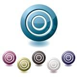 Target variation icon Royalty Free Stock Photo