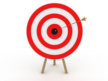 The target was a gold boom №1 Stock Image