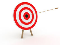 The target was a gold boom №2 Royalty Free Stock Photos