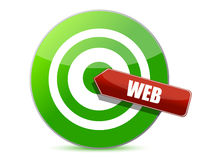 Target the web Stock Images