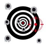 Target on white background vector illustration