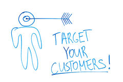 Target your customers Stock Images