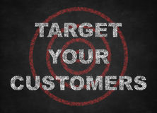 Target Your Customers Royalty Free Stock Photography