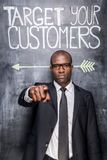 Target your customers! Royalty Free Stock Image