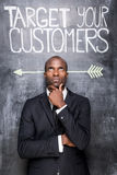 Target your customers. Stock Images