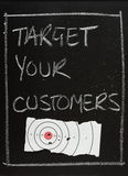 Target Your Customers Royalty Free Stock Image