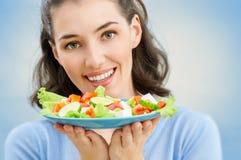 TARGET731_1_ zdrowego jedzenie obraz stock