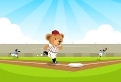 target1000_1_ baseballa podstawowy niedźwiedź Zdjęcie Stock