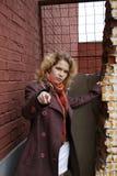 target1008_0_ ty palcowa dziewczyna zdjęcia stock