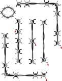target1024_1_ ilustracja drut druty elementy Zdjęcia Stock