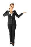 target1040_0_ kobietę pusta biznes ręka kobieta Obraz Royalty Free