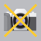 target1104_0_ znaka żadna fotografia Ilustracja Wektor