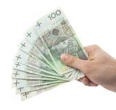 target1122_1_ ręka zawrzeć pieniądze ścieżki połysk Fotografia Stock