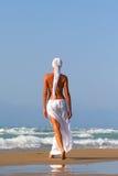 target1167_0_ kobiety morza kobieta obraz stock