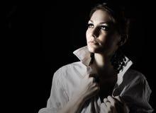 target1168_0_ nastoletni up piękna dziewczyna Obraz Stock