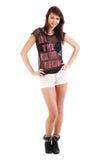 target1192_0_ dziewczyna nastolatek Fotografia Stock