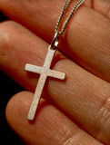 target1214_1_ kolii srebro krzyży palce zdjęcia royalty free