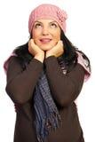 TARGET1222_0_ zima kobiety Fotografia Stock