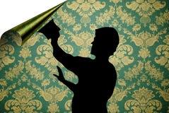 target1263_1_ w górę tapety Zdjęcie Stock
