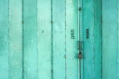 target1288_1_ starego zielonego metal tło drzwi Zdjęcie Royalty Free