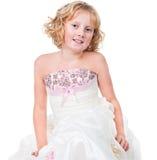 TARGET1324_0_ togę odizolowywającą śliczna aktywna nastoletnia dziewczyna Obrazy Royalty Free