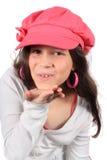 target1361_1_ osiem dziewczyn buziaka starego ładnego rok Fotografia Stock