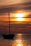 target1395_1_ s jacht kotwicowy tło Obrazy Royalty Free