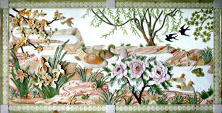 target1403_1_ remisu chabeta ulgi ścianę Obraz Royalty Free