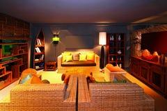 target1540_1_ orientalny pokój Zdjęcia Stock