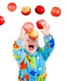 target156_1_ dziewczyny trochę dzieci jabłczani caughts zdjęcie royalty free