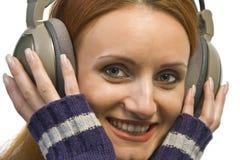 target1645_0_ kobiety atrakcyjni piękni hełmofony Obrazy Royalty Free