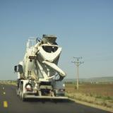 target1655_1_ betonowa budowy melanżeru ciężarówka Fotografia Stock