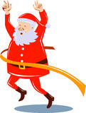 target1691_1_ Santa Claus meta Obrazy Stock