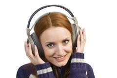 target1713_0_ kobiety atrakcyjni piękni hełmofony Zdjęcia Stock