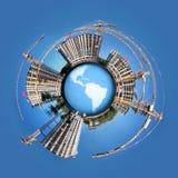 target1756_1_ okręgu kuli ziemskiej panorama fotografia royalty free