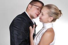 target176_1_ mężczyzna neckband pasi kobiety Zdjęcia Stock