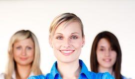 target1761_0_ trzy bizneswomanu portret Obrazy Royalty Free