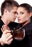 target1850_0_ mężczyzna herbaty kobieta Zdjęcie Royalty Free