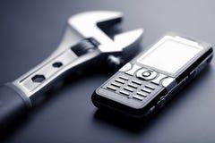 target186_0_ pomoc telefon komórkowy wyrwanie Zdjęcia Royalty Free